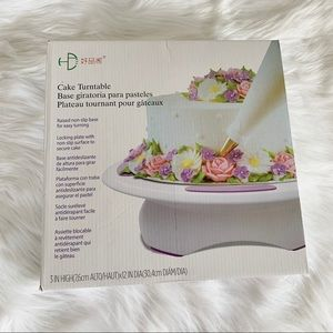 New Cake Decorating Turntable
